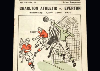 Everton v Charlton 22.04.1939