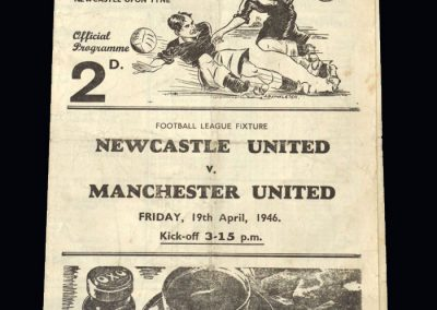 Man Utd v Newcastle 19.04.1946