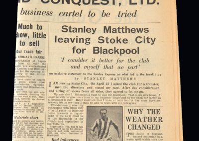 Daily Express Stan Matthews Article 04.05.1947
