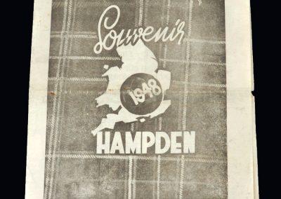 Scotland v England 10.04.1948 (pirate)