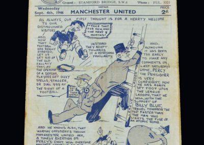 Man Utd v Chelsea 04.09.1946
