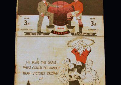 Man Utd v Charlton 04.01.1947