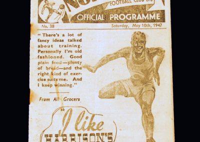 Man Utd v Preston 10.05.1947