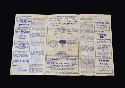 Chelsea v Portsmouth 19.10.1946