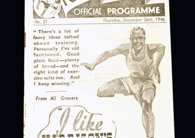 Chelsea v Preston 26.12.1946
