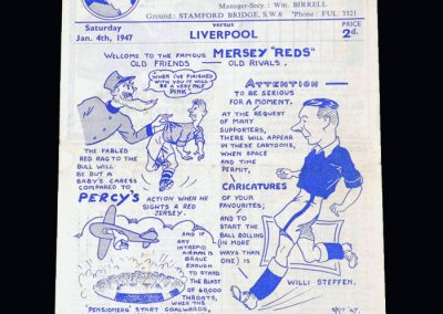 Chelsea v Liverpool 04.01.1947