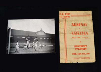 Chelsea v Arsenal 15.01.1947 - FA Cup 3rd Round Replay (pirate)