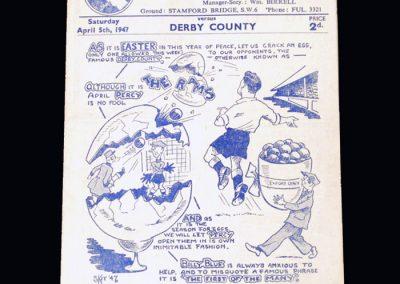 Chelsea v Derby 05.04.1947