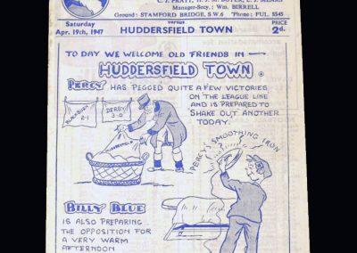 Chelsea v Huddersfield 19.04.1947
