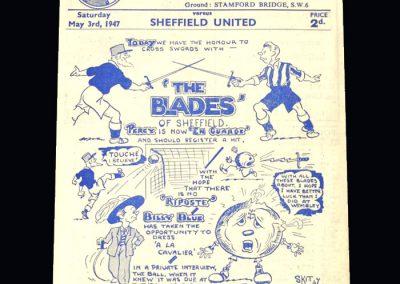 Chelsea v Sheff Utd 03.05.1947