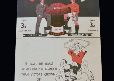 Man Utd v Charlton 30.08.1947