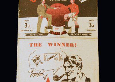 Man Utd v Stoke 04.10.1947