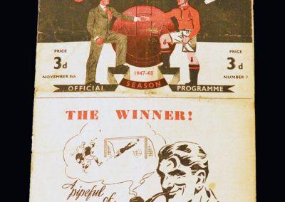 Man Utd v Huddersfield 08.11.1947