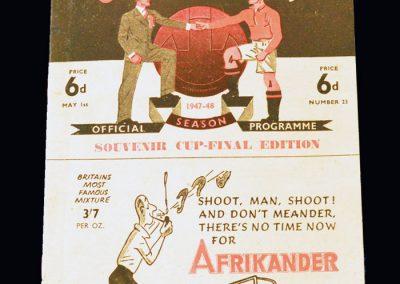 Man Utd v Blackburn 01.05.1948