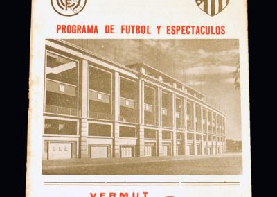 Real Madrid & Athletico Madrid v Paris Select 11 11.06.1949