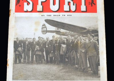 England on their way to Rio - Sport Magazine 23.06.1950