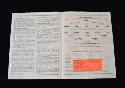 West Ham v FA Amateur International 11 26.09.1955 (Scores for the amateurs in a 6-1 defeat)