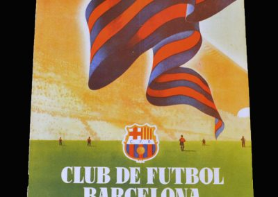 FC Barcelona Club Magazine - April 1955