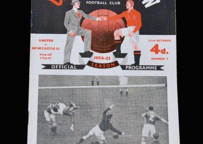 Man Utd v Newcastle 23.10.1954