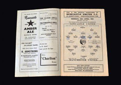 Man Utd v Newcastle 18.04.1955