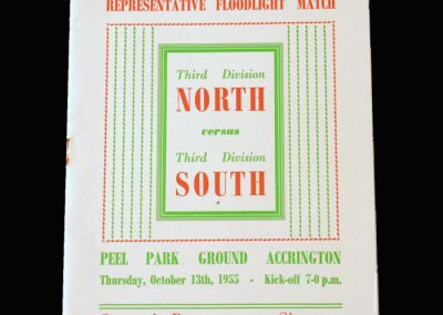 North v South 13.10.1955 - Third Division Challenge