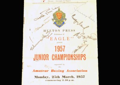 Junior ABA Championship 25.03.1957 (Stan gets an award)