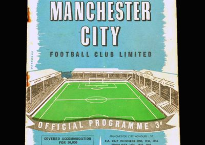 Man City v Birmingham 05.03.1958