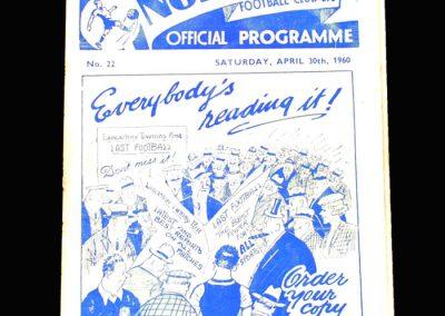Preston v Luton 30.04.1960 (Finneys last game)