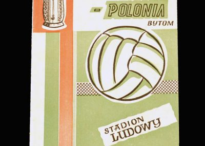 Zagleb v Polonia 03.04.1963 - Polish Cup Quarter Final