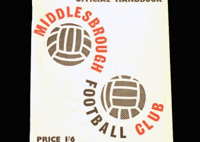 Middlesbrough Official Handbook 1963/64 Season