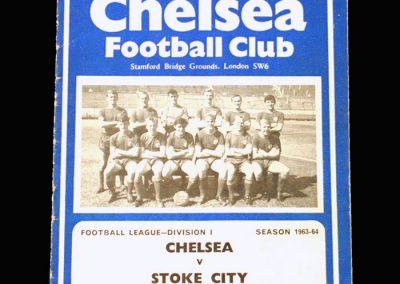Chelsea v Stoke 05.10.1963