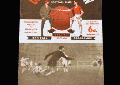Man Utd v Stoke 07.12.1963