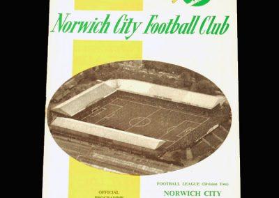 Man City v Norwich 16.09.1964