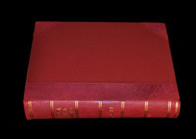 Bound Volume - Aston Villa - Villa Record 1922-23 Season