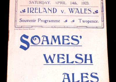 Wales v Ireland 14.04.1923
