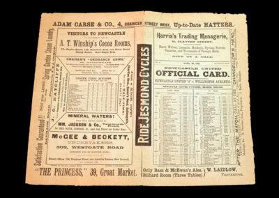 Newcastle A v Willington 20.04.1901