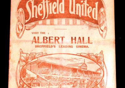 Sheffield United v Everton 20.12.1924