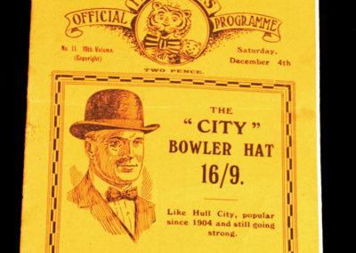 Hull City v Portsmouth 04.12.1926