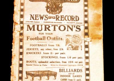 Newcastle v Leicester 18.12.1926