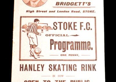 Stoke v Birmingham 27.11.1909