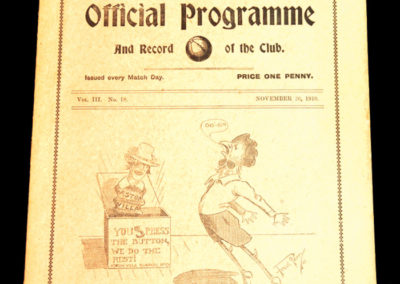 Tottenham Hotspur Reserves v Clapton 26.11.1910