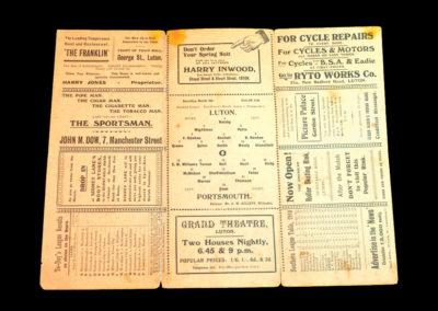Luton v Portsmouth 04.03.1911