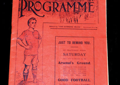 Woolwich Arsenal v Lincoln 18.10.1913