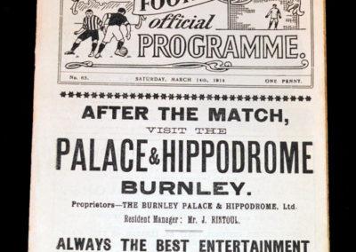 Burnley v Liverpool 14.03.1914