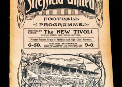 Sheffield United v Bradford City 03.10.1914