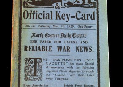 Middlesbrough v Liverpool 20.03.1915