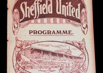 Sheffield United v Leicester Fosse 16.12.1916