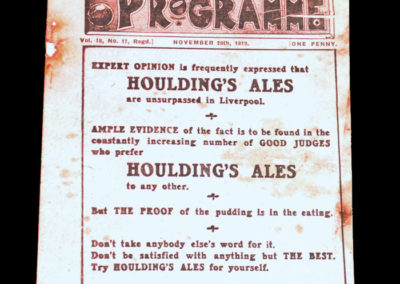 Liverpool v Preston 29.11.1919