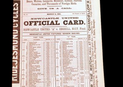 Newcastle v Seghill 02.03.1901