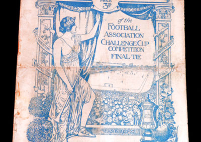 FA Cup Final - Huddersfield v Preston 29.04.1922